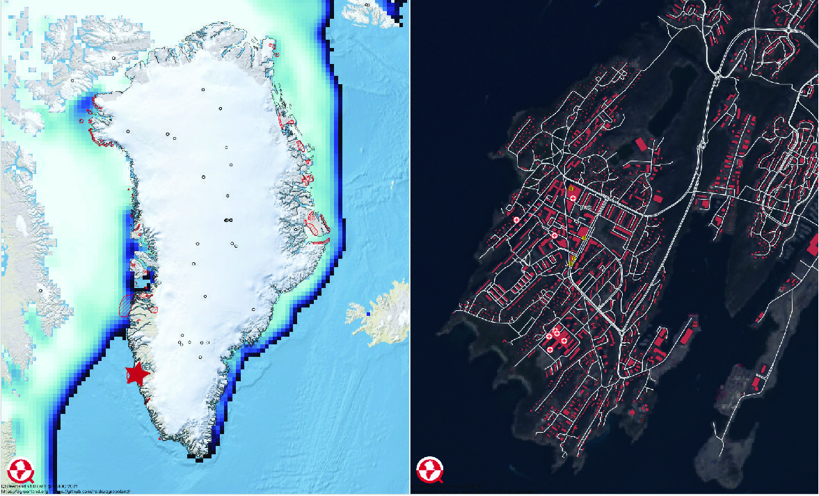 There are a variety of datasets that would be compatible with QGreenland